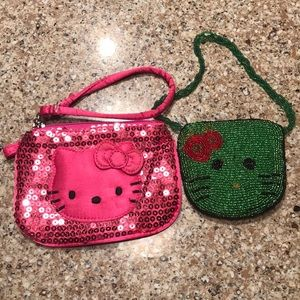 Hello Kitty Small Beaded & Sequin wristlets